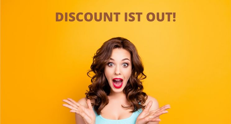Discount ist out